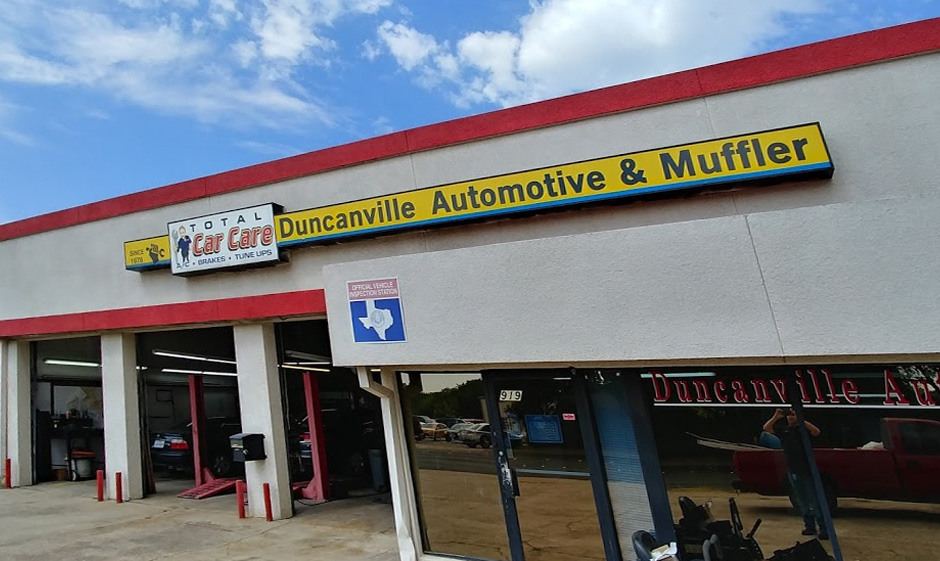 Duncanville Automotive and Muffler Shop Front